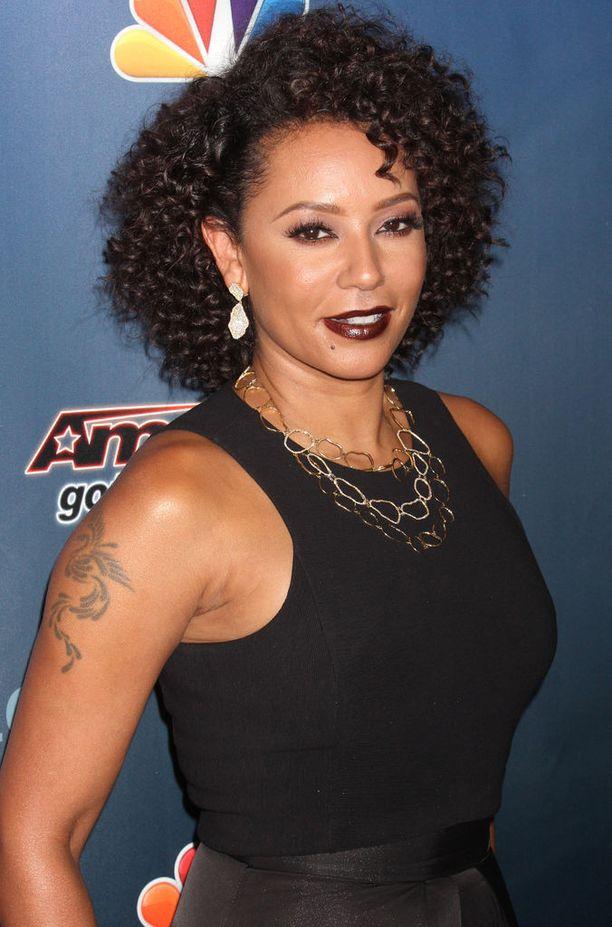 Melanie Brown, 42, on nykyään kolmen lapsen äiti. Mel B työskentelee nykyään America's Got Talent-ohjelman tuomarina.