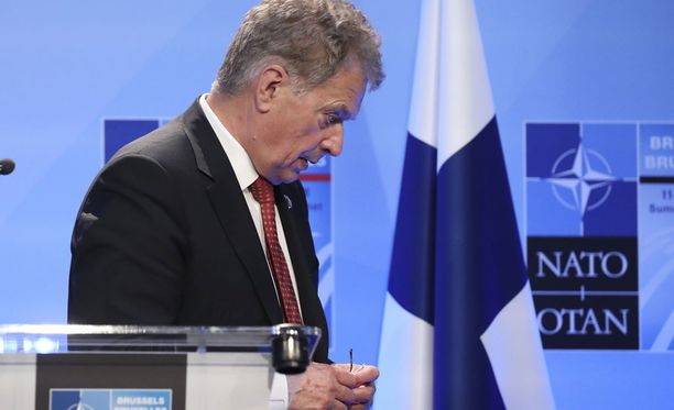 Presidentti Sauli Niinistö osallistui Nato-huippukokoukseen Brysselissä heinäkuun puolivälissä.