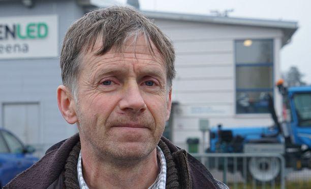 Jyrki Kivelä koki kovia Matinkylän jäähallissa viime marraskuussa.