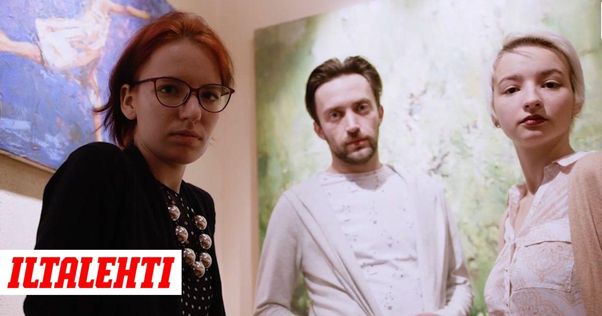Venäläinen Lesbo kolmikko