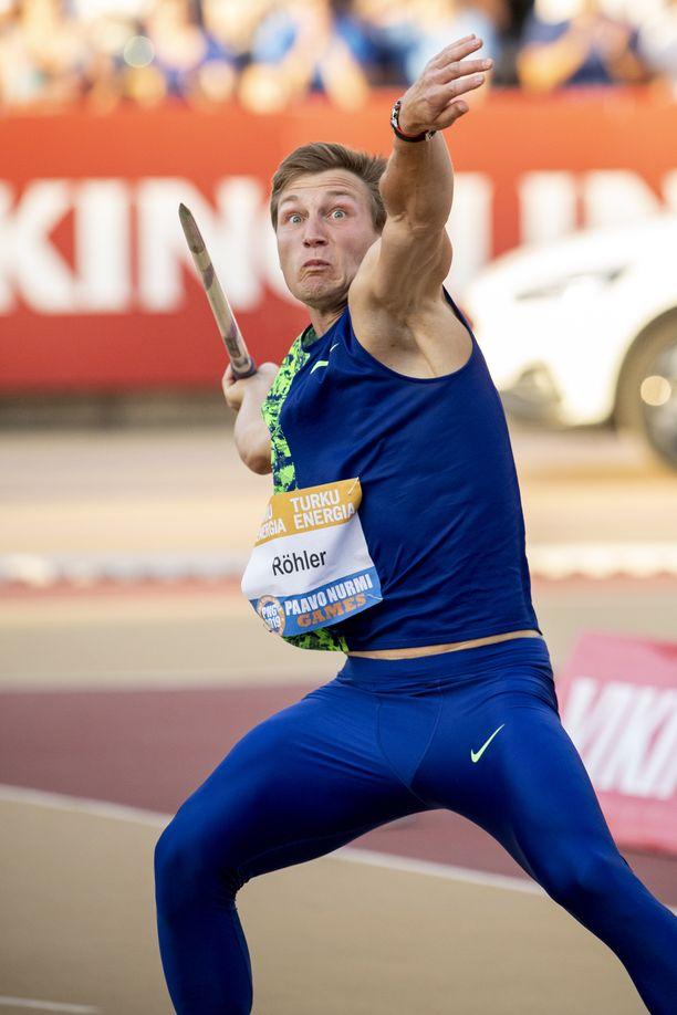 Thomas Röhler on hallitseva olympiavoittaja ja Euroopan mestari.