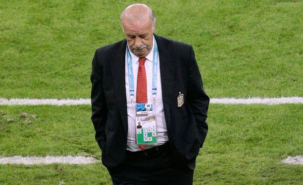 Vicente Del Bosquella ovat olleet vitsit vähissä Hollanti-tappion jälkeen.