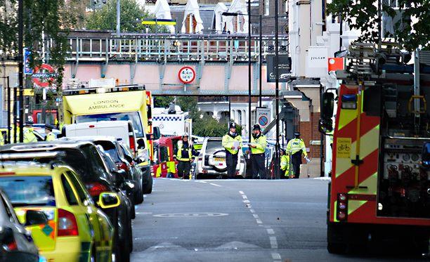 30 loukkaantui Parsons Greenin asemalla tehdyssä iskussa.