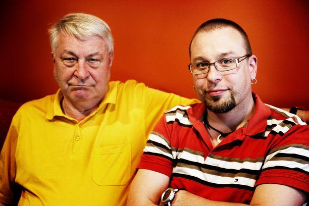 Vexi ja Topi Salmi yhteiskuvassa vuonna 2011.