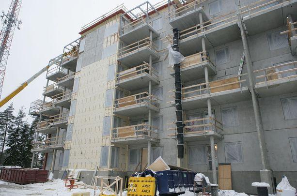 Rakentamisen elvyttäminen parantaisi Suomen kilpailukykyä.