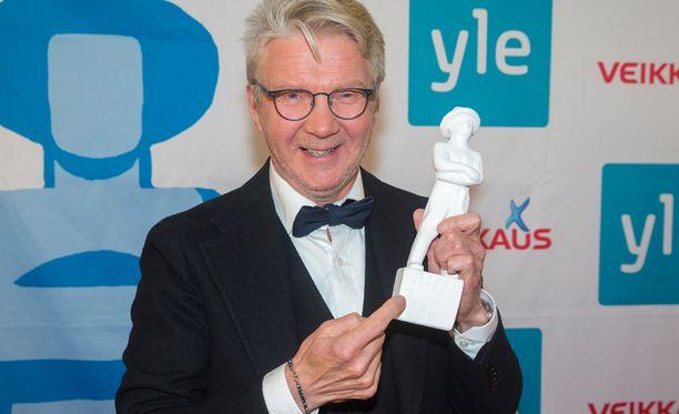 Pirkka-Pekka Petelius palkittiin viime vuonna miessivuosa-jussilla.
