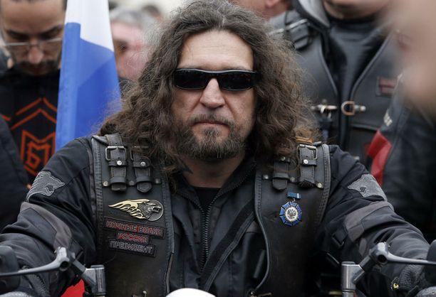 Yön susien johtaja Kirurgi eli Aleksandr zaldostanov ei ole Euroopan-turveella.