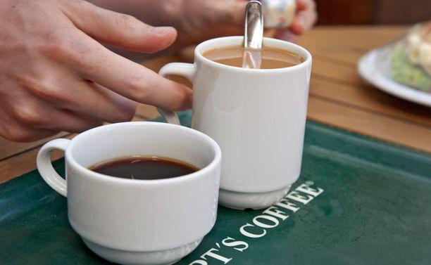 Ikävä välikohtaus tapahtui Robert's Coffeessa Hyvinkäällä.