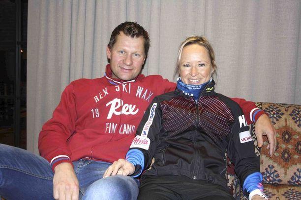 Toni ja Riitta-Liisa menivät naimisiin vuonna 2006.