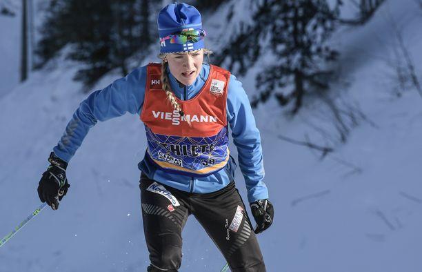 Anita Korva on Suomen hiihdon suuri tulevaisuuden toivo.