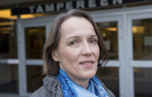 Tampereen yliopiston rehtori Liisa Laakso on toinen Suomen yliopistojen naispuolisista rehtoreista.