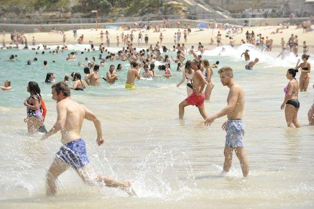 Rankkasateet ovat saastuttaneet Melbournen suosituimpia uimarantoja.