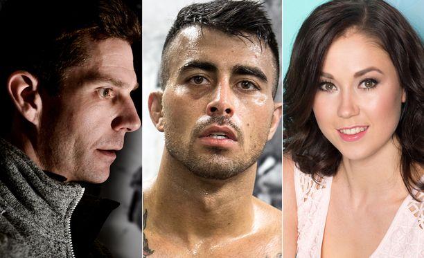 Ainakin nämä kolme urheilijaa kertovat elämästään ja urastaan ohjelman uudella kaudella.
