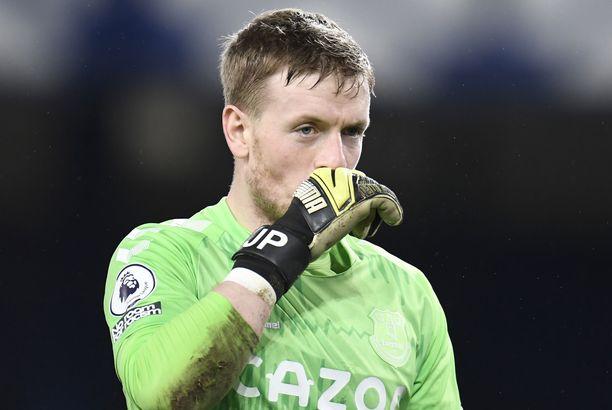 Jordan Pickford on tärkeä pelaaja Evertonille.