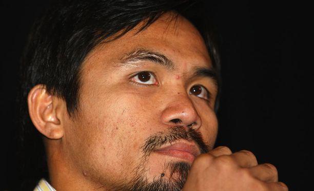 Manny Pacquiao tietää, milloin kannattaa lepuuttaa keskivartaloa.