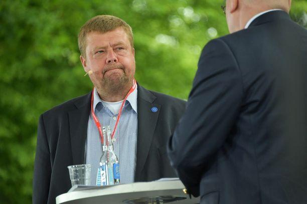 Pekka Perä osallistui tiistaina Porin Suomi areenan Suomen vihatuimmat yritykset -keskusteluun.
