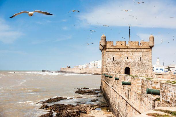 Essaouira tarjoaa niin historiallisia nähtävyyksiä kuin rannankin.