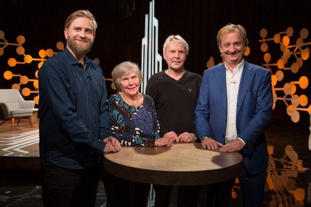 Vieno ja Matti Nykänen ovat sunnuntain Harkimot-ohjelmassa Joel ja Hjallis Harkimon vieraana.