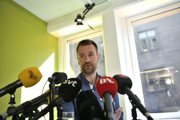 Johan Gustafsson puhui medialle viime vuoden elokuussa ensi kertaa vapautumisensa jälkeen.
