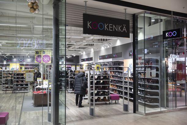 Kookenkä-ketjun myymälät suljetaan yksi kerrallaan.