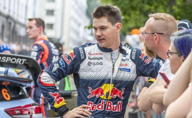 Teemu Suninen on perjantain jälkeen paras M-Sport-kuljettaja.
