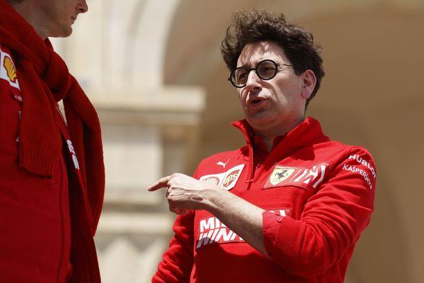 Tallipäällikkö Mattia Binotton johtama Ferrari on tullut Kataloniaan ison päivityspaketin kanssa.
