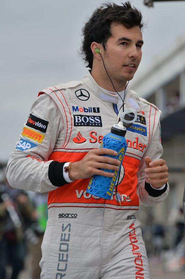 Sergio Perez aikoo jatkaa kuten ennenkin.