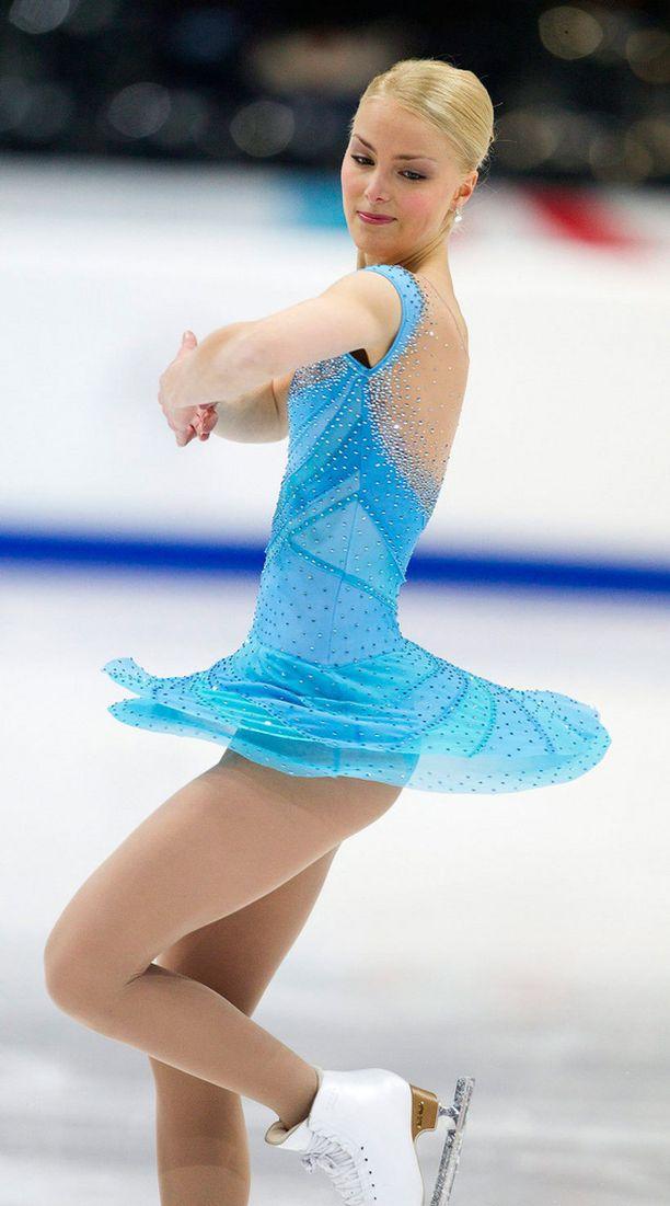 Euroopan Mestaruudet Bernissä Sveitsissä 2011, naisten lyhytohjelma.