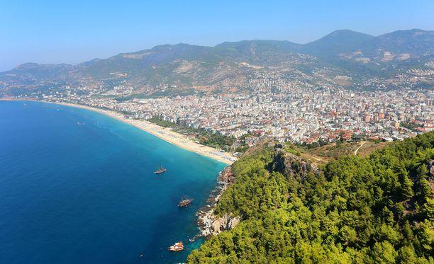 Turkin suosikkikohteisiin pääsee nyt hyvinkin halvalla. Kuva Alanyasta.