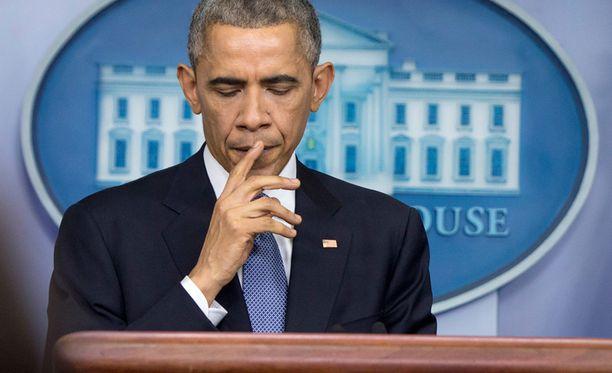 Barack Obama ei pidä Pohjois-Korean kyberiskua sotatoimena vaan kybervandalismina.