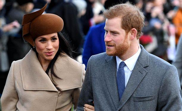 Meghan Markle ja prinssi Harry ottivat uuden vuoden vastaan Ranskassa.