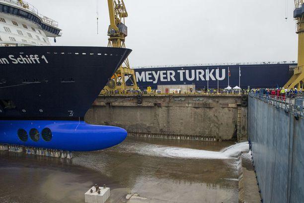Uudessa laivassa on paikkoja noin 3000 matkustajalle.