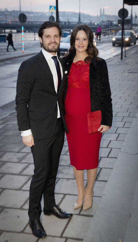 Prinssi Carl Philip ja prinsessa Sofia saavat ensimmäisen lapsensa tässä kuussa. Pari avioitui viime vuoden kesäkuussa.