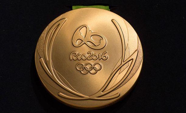 Rion olympialaisten kultamitali esiteltiin tiistaina.