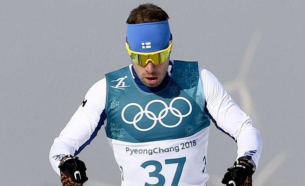 Lari Lehtonen onnistui erinomaisesti miesten viestissä.