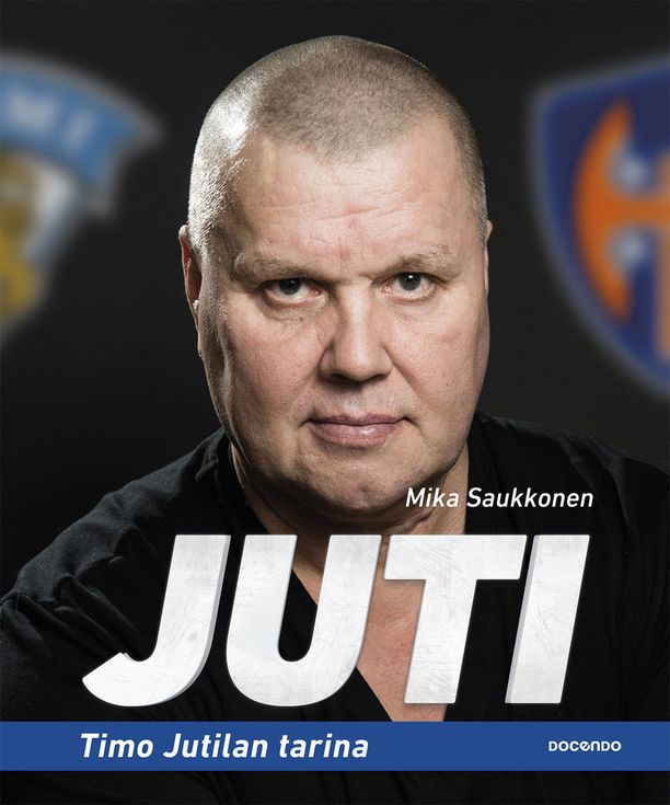 Mika Saukkosen kirjoittama Juti (Docendo) ilmestyy tällä viikolla.