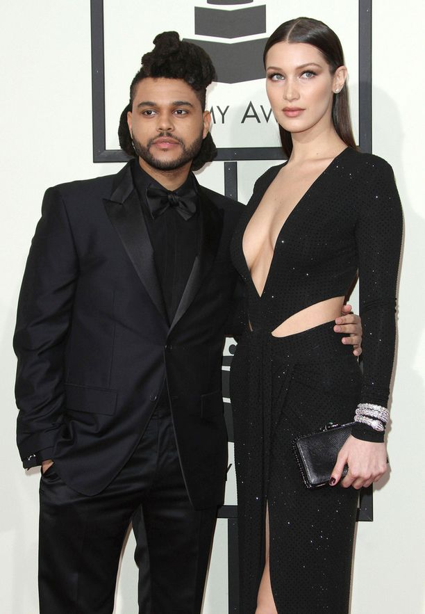 The Weeknd ja huippumalli Bella Hadid.