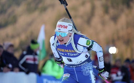 Kaisa Mäkäräisen mahtinousu tyssäsi pystyammuntaan – silti upea sijoitus, nuori suomalaisyllättäjä onnistui jälleen!