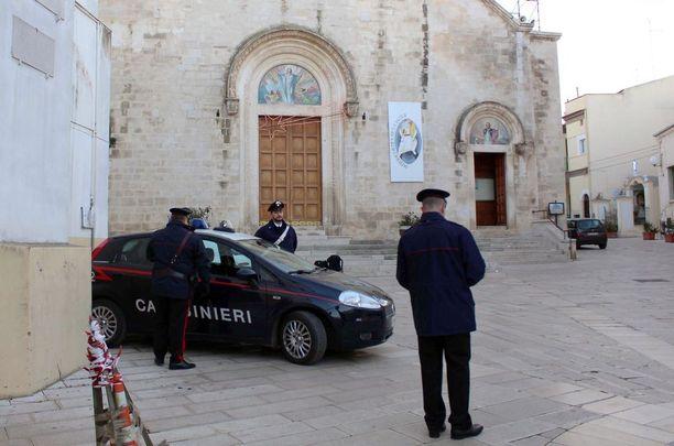 Yksi 'Ndranghetan mafiapomoista pidätettiin viime vuonna Italiassa lähellä Baria.