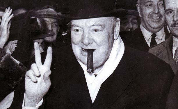 Winston Churchill muistetaan sikareistaan, ei niinkään maalauksistaan, vaikka hän olikin sydämeltään taiteilija.
