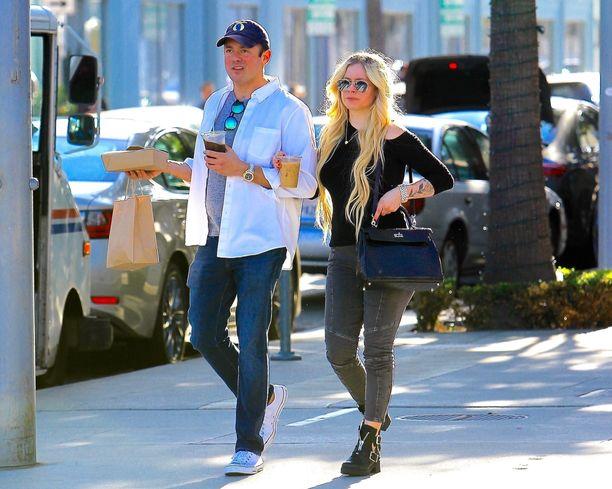 Avril Lavigne ja Phillip Sarofim ehtivät olla yhdessä alle kaksi vuotta.