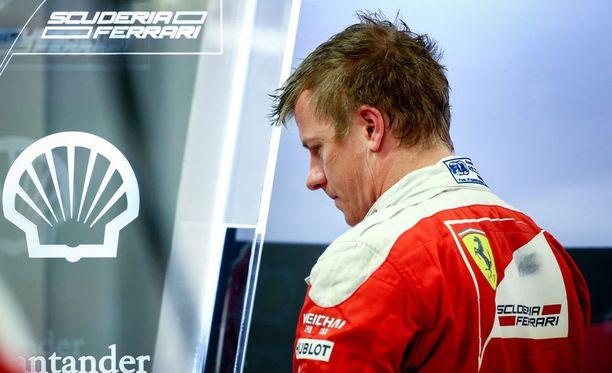 Kimi Räikkönen jäi neljänneksi Singaporen GP:ssä.
