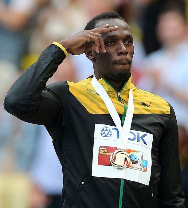 Usain Bolt on voittanut yhteensä kahdeksan MM-kultaa.