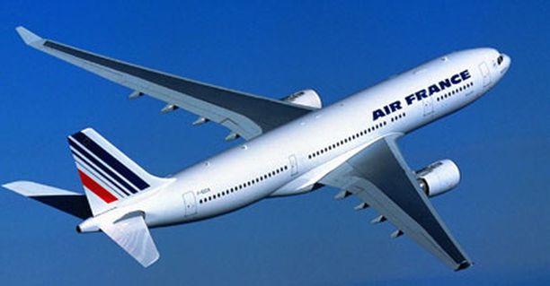 Air Francen Airbus 330 katosi tutkasta Atlantin yllä.