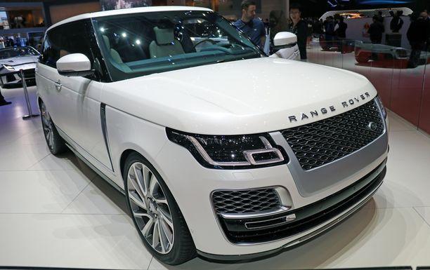 Range Rover SV.