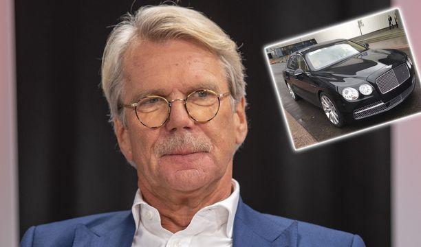 Björn Wahlroosin Bentley on myynnissä.