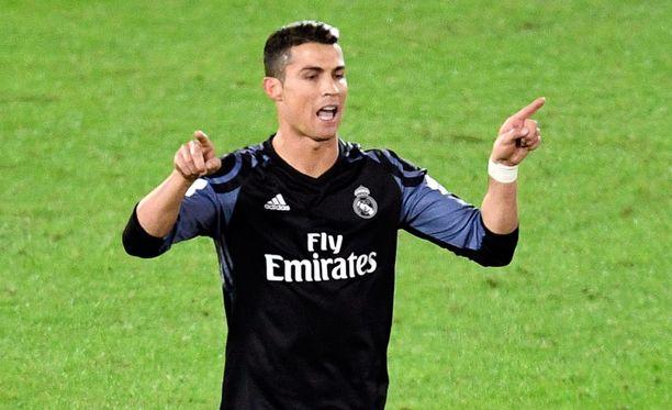 Cristiano Ronaldo tehtailee maaleja pelistä toiseen.