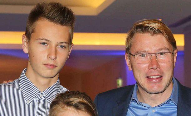 Hugo Häkkinen ei ole seuraamassa Mika-isänsä jalanjälkiä.