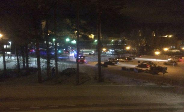 Räjähdys sattui UPM:n vaneritehtaalla perjantai-iltana.
