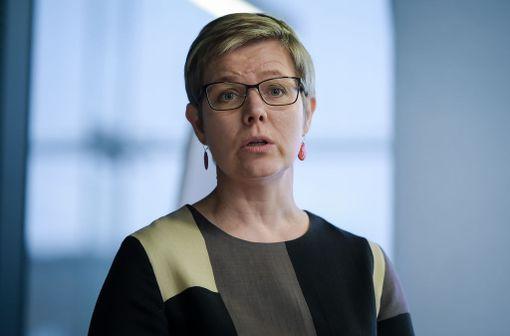 Vihreiden eduskuntaryhmän puheenjohtaja Krista Mikkonen.